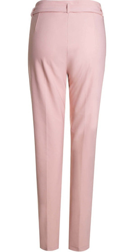 calça social cigarrete cintura alta com cinto seiki 650367