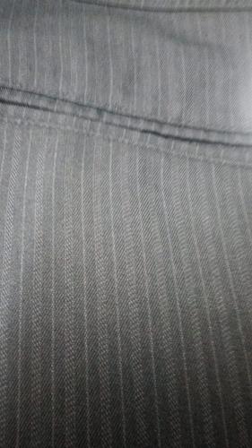 calça social microfibra fem sutil risca de giz 36 ao 48