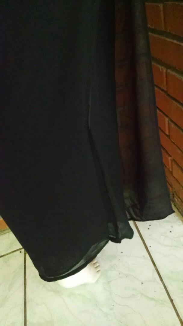 5708703b3 calça social pantalona crepe de seda tamanho m. Carregando zoom.