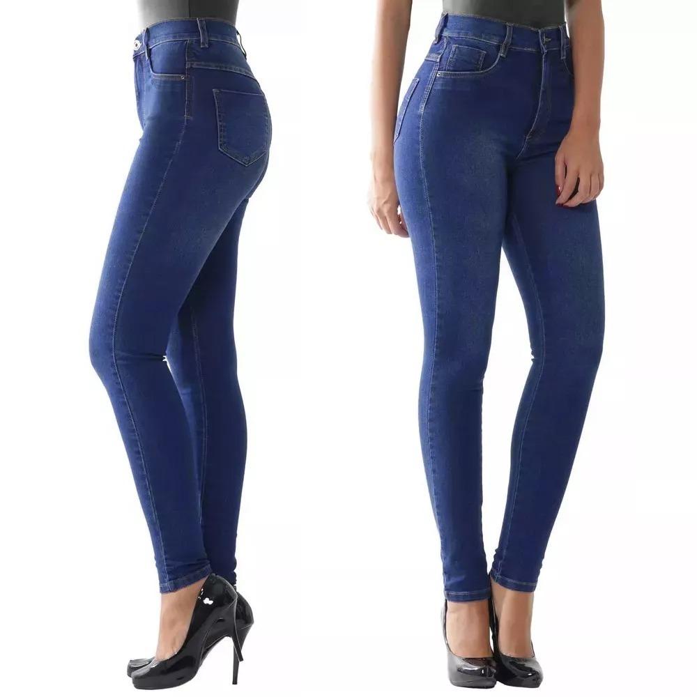 900d1bce8 calça super lipo 986 básica azul jeans elegante sawary lycra. Carregando  zoom.