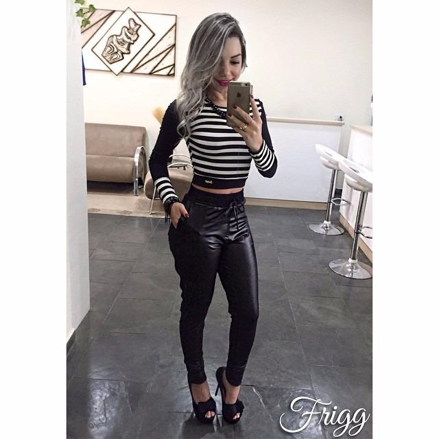 Calça Swag Feminina Em Cirre Poliamida Pronta Entrega - R  89 06fe2a6d0a2
