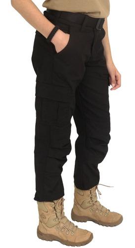 calça tática camping feminina at1.001502pt atack militar