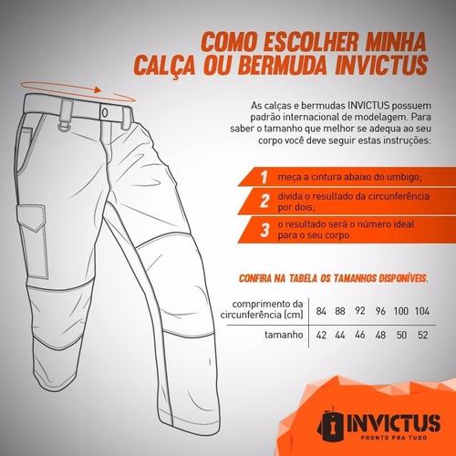 calça tática cargo invictus guardian multicam black 10 bolso