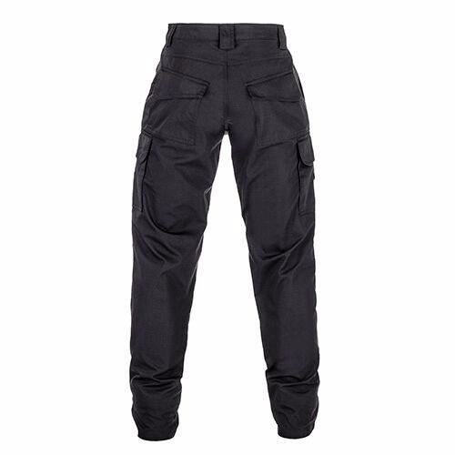 calça tática cargo invictus - guardian preta - 10 bolsos