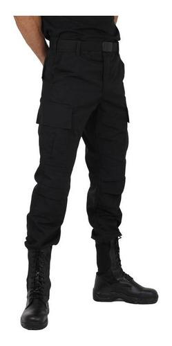 calça tática masculina rip stop 6 bolsos - atack