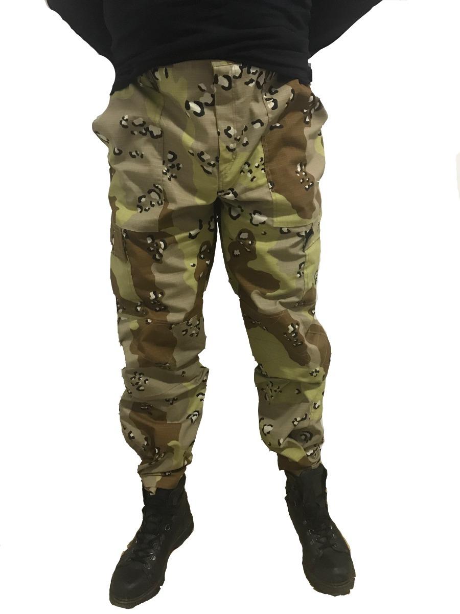 calça tática rip stop camuflado deserto - frete grátis. Carregando zoom. c8af7f1919b