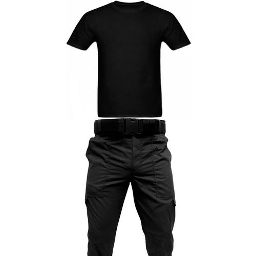 calça tática rip stop operacional  + camiseta algodão+ cinto