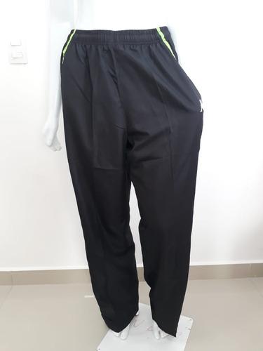 calça tectel kappa masculina preta com verde