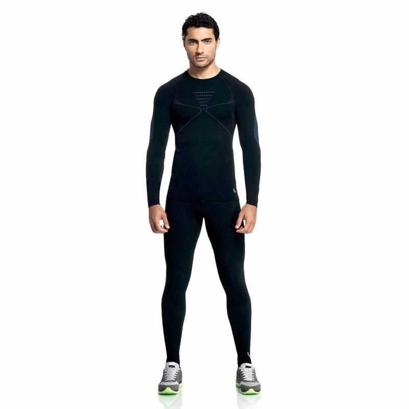 calça térmica compressão masculina sem costura lupo - 70601. Carregando  zoom. 91a3a6315c342