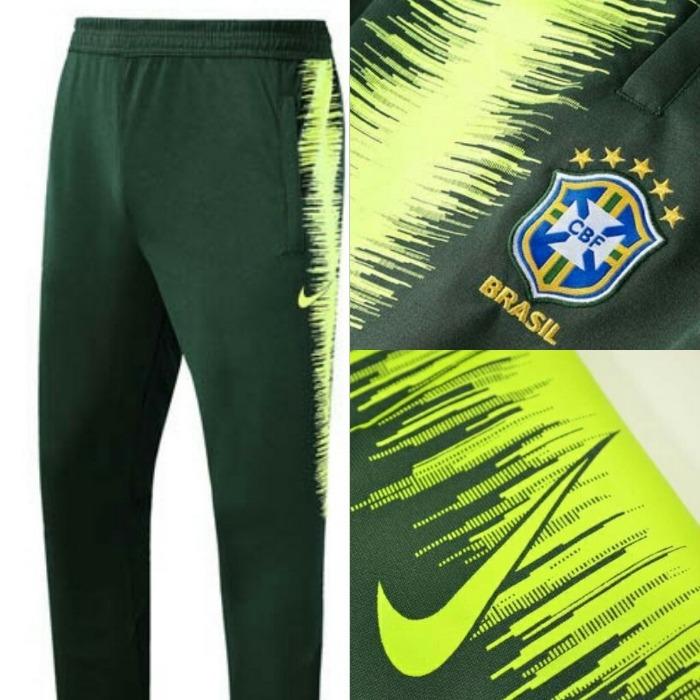 cb23c6f2f3 Calça Treino Brasil 2018 - R  192