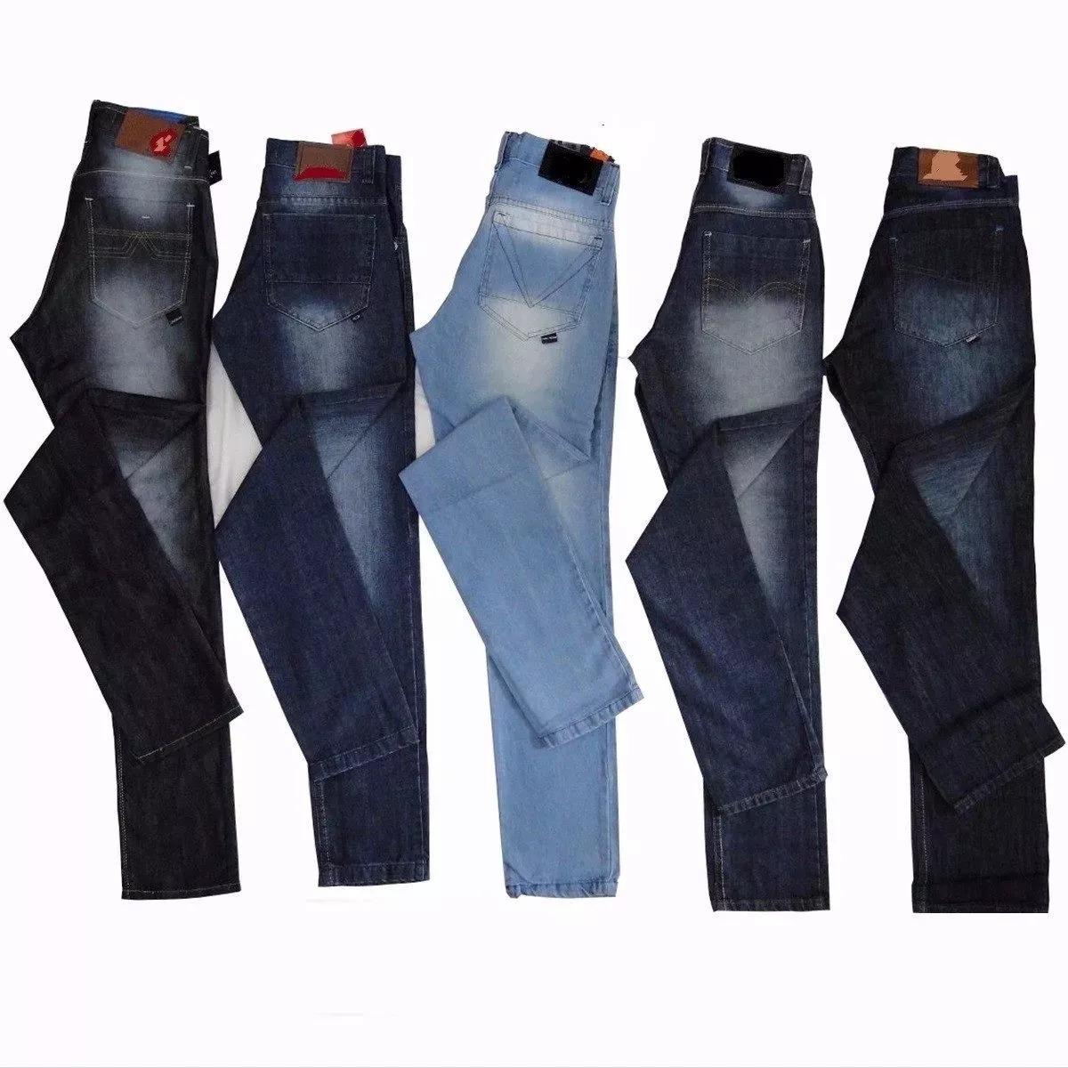 22adf701a calça zip jeans com lycra stretch masculina. Carregando zoom.