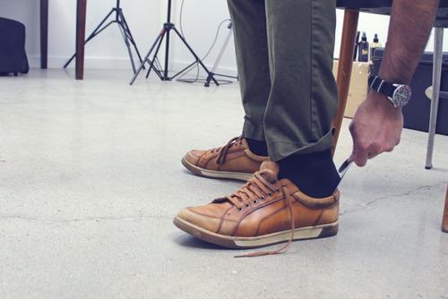 calçadeira de sapatos/tênis aço inox 18cm frete r$12
