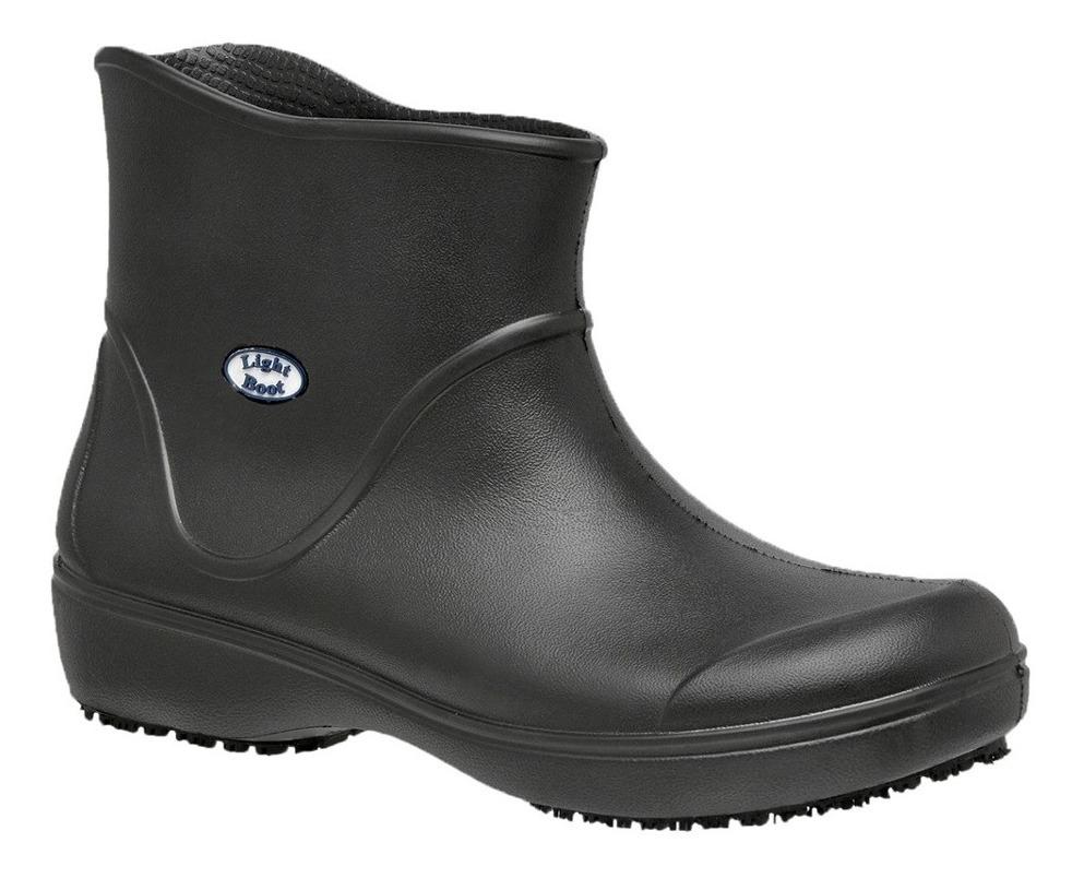 e1f0bc429a373 calçado antiderrapante light boot preto - soft works. Carregando zoom.