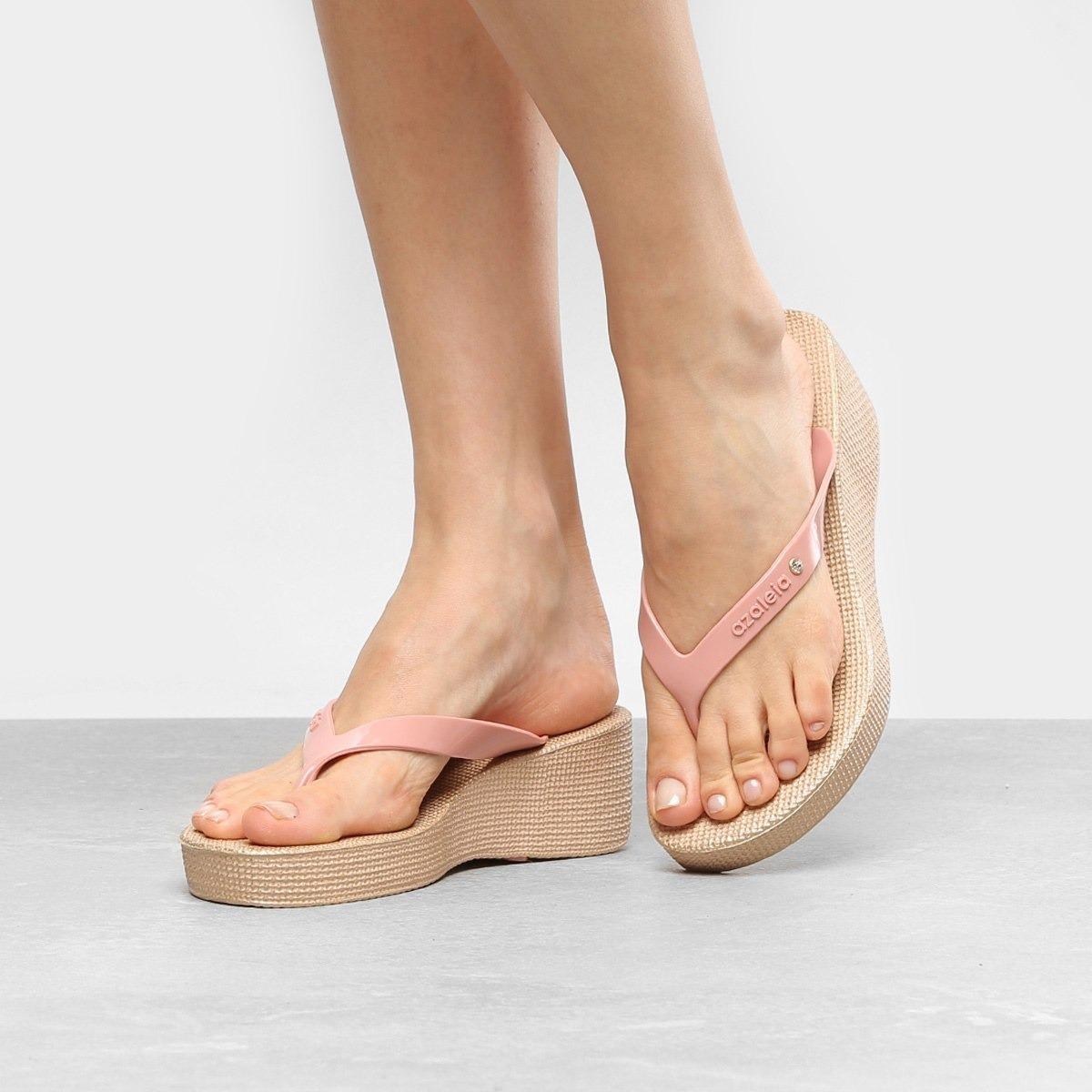 4c35331fb5 Carregando zoom... azaleia anabela calçado feminino. Carregando zoom... calçado  feminino azaleia tropical salto anabela 251 756