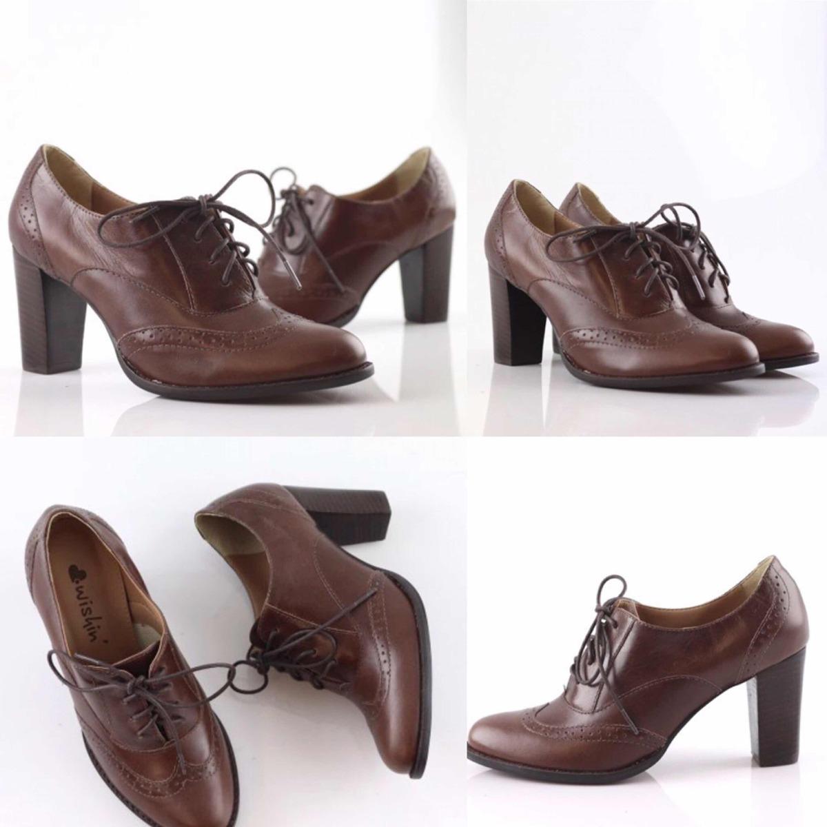 cb0fd21d3 Calçado Feminino Oxford Wishin Novo - R$ 228,00 em Mercado Livre