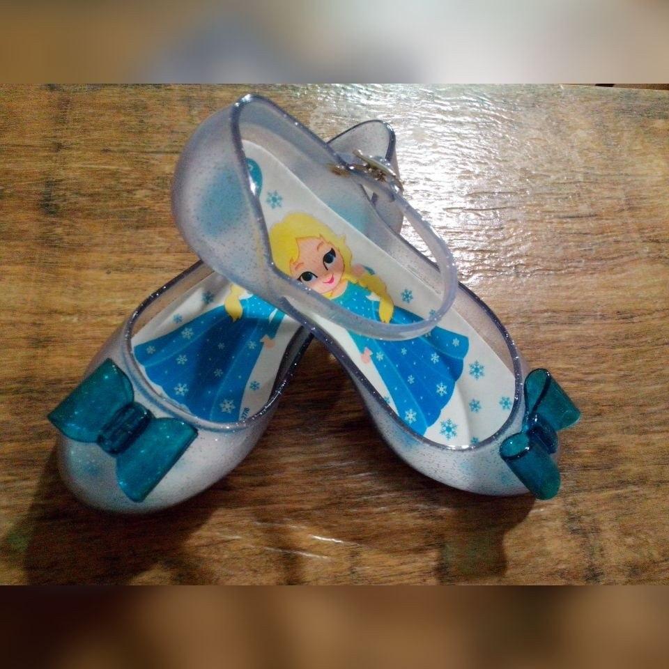 56a9c1978f Sapatilhas Frozen Elsa Anna Calçado Sapato Presente Infantil - R ...