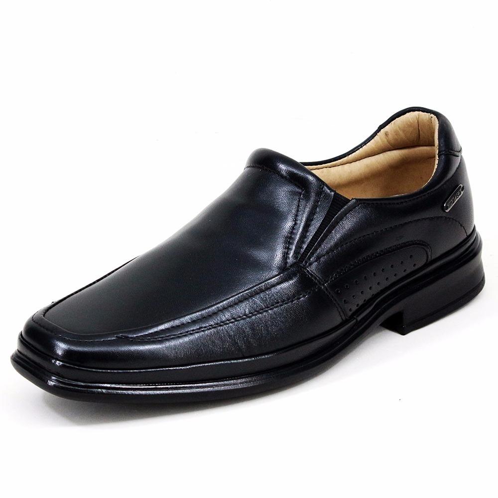 46b4fa9392 calçado semi ortopédico social casual pés sensíveis em couro. Carregando  zoom.