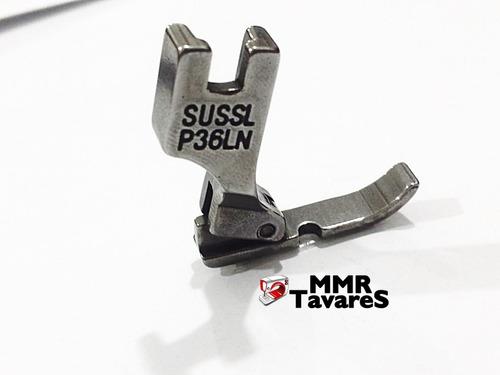 calcador maquina reta industrial ziper lado esquerdo metal