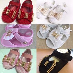 3847efeea Sapatinhos Baby - Calçados de Bebê no Mercado Livre Brasil