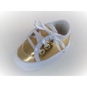 5f7508e5a5 Tenis Dourado Sem Cadarço - Bebês no Mercado Livre Brasil