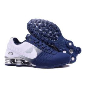 87c0369779e Tenis Nike Shox Masculino Lançamento Azul Bebe Running - Calçados ...