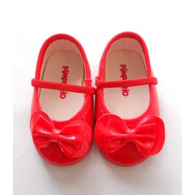 540f0d118 Sapato Vermelho Para Bebê Da Pimpolho Numero 16 - Roupas de Bebê no ...