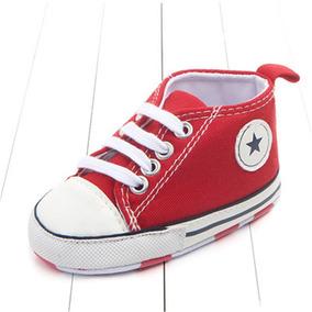 d8b79f70a55 Roupa De Bebê Tênis Tipo All Star Converse Unisex Sapatinho