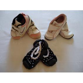 37a811f72fa Lote Tenis Calçado Menina Nike Puma Lupo Tam 22   23