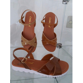 6df048dc3e Linda Sandalia Cor Ouro Velho - Calçados