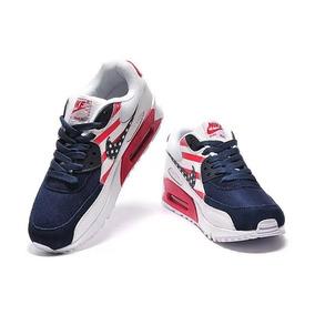 e828f478624b0 Tenis Nike Air Max 90 Brush Black Preto Original - Calçados