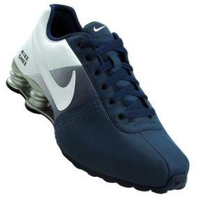 b7813e5f8c4 Tenis Nike Shox Feminino Azul Bebe E Branco Free - Calçados