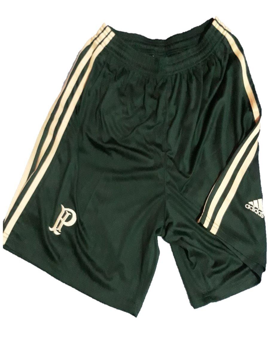 5c54434d0f calçao adidas palmeiras shorts treino academia futebol verde. Carregando  zoom.