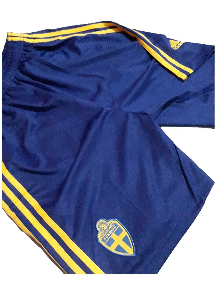 b09d9315a8 calçao adidas suecia futebol copa do mundo treino academia. Carregando zoom.