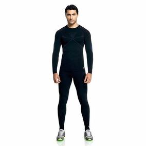 aa567a17a5d11 Calça Térmica Compressão Masculina Sem Costura Lupo - 70601