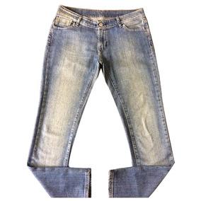 8cb24a1b9a91d Lacoste Calça Jeans Feminina 42 Original Importada Promoção