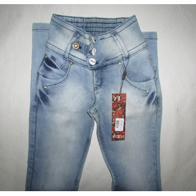 1961eda3f2 Capri Jeans Colorida Edex - Calças no Mercado Livre Brasil