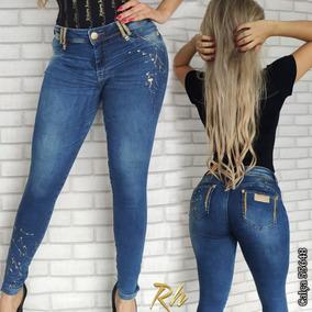 3b5776417 Calça Jerram Cod.8288 Feminino - Calças Jeans Azul no Mercado Livre ...
