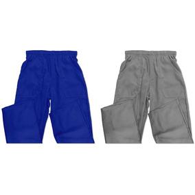 00701356b Calca Brim Masculina Uniforme - Calças Masculino Azul no Mercado ...
