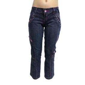 2316518ee Calça Jeans Menina Questão De Estilo -16- Frete Grátis R0596