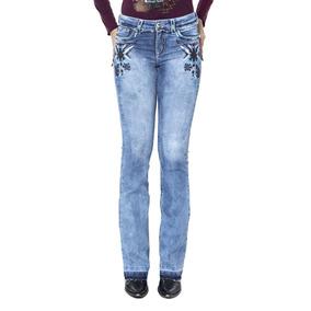 c85f316831f72 Calca Tassa Gold Bordada - Calças Jeans no Mercado Livre Brasil