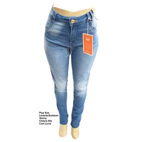 55e26540a Calca Saruel Jeans Feminina Sawary Calcas Tamanho 52 - Calças ...