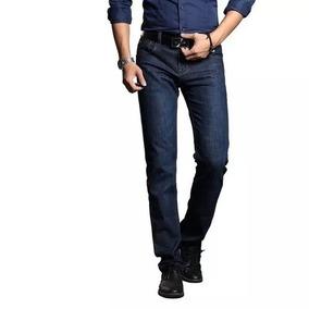 2a1f9a0c0a623 Kit 4 Calça Jeans Masculina Básica Tradicional Trabalho Reta