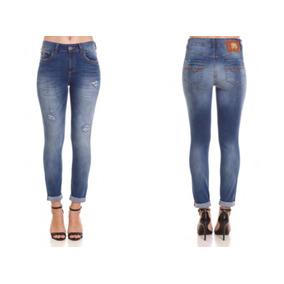 e9ecd557d Calça Jeans Colcci Fem Alessandra Ambrosio - Calçados