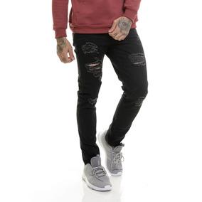 a352ff6cf Crorped - Calças Jeans Masculino no Mercado Livre Brasil