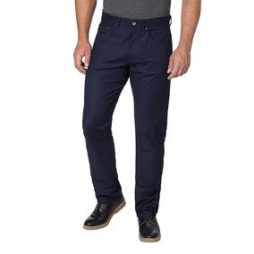 60424161f1291 Calça Calvin Klein Azul Marinho Tamanho 44 Original