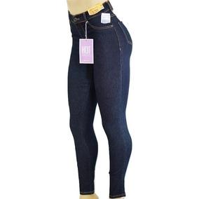 cc165ea2ef Calça Sawary Jeans Cintura Alta Hot Pants Com Elastano