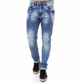 6d4b6e4ba Calça Jeans C Lycra Masculina Kit 02 Peças Slin Plus Size