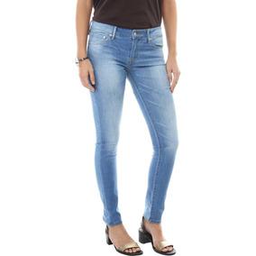 279fc0fc3 Calça Jeans Levis Feminina 711 Skinny Azul Claro