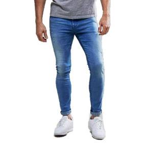 42e69b7bf Kit Calça Jeans Masculina Skinny - Calças Jeans Preto no Mercado Livre  Brasil