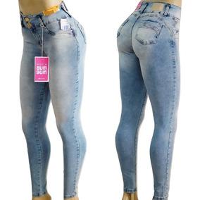 5f38c1fd1 Mi55 Calca Jeans 3 Botoes - Calças Sawary Calças Jeans Feminino no ...